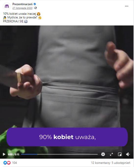 reklama Prezent Marzeń